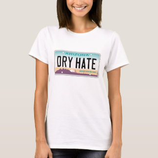 Trockenes Hass-T-Stück Arizonas T-Shirt