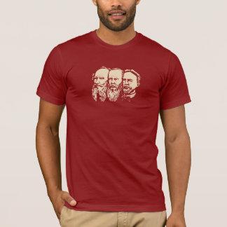 Troïka russe : Tolstoy, Dostoevsky, Chekhov T-shirt