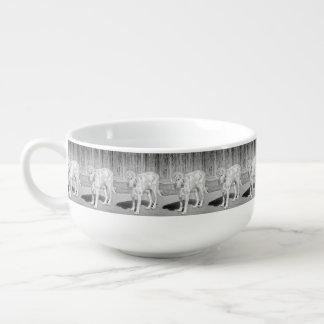 """""""Troja-Baby-"""" kundenspezifische Suppen-Tasse Große Suppentasse"""