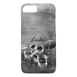 Trommel-Set/künstlerischer moderner Chic iPhone 8/7 Hülle