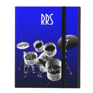 Trommel-Set-personalisiertes Monogramm-Geschenk Schutzhülle Fürs iPad