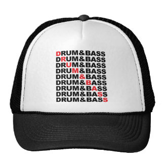 Trommel u. Bass-Quadrat Retrokultmütze