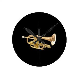 """""""Trompete"""" Entwurfsgeschenke und -produkte Uhr"""