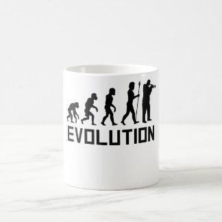 Trompete-Evolution Kaffeetasse