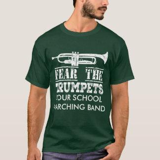 Trompete-Musik-marschierendes T-Shirt