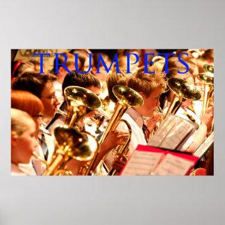 Trompeten Poster