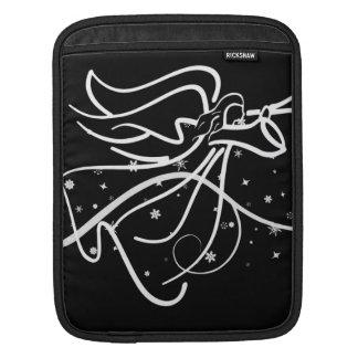 Trompetenengel Schwarzweiss Sleeve Für iPads