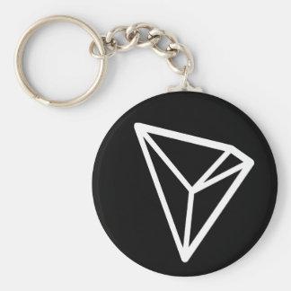 Tron TRX grundlegendes Keychain (Schwarzes) Schlüsselanhänger
