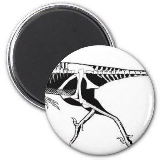 Troodon Runder Magnet 5,7 Cm