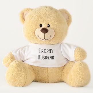 Trophäe-Ehemann-Weihnachtsgeschenk-Teddybär