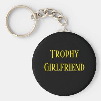 Trophy Girlfriend Christmas Holiday Gift Key Chain Schlüsselanhänger