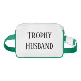 Trophy Husband Christmas Holiday Gift Fanny Pack Bauchtasche
