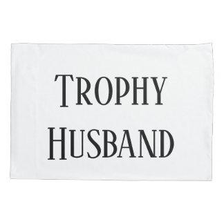 Trophy Husband Christmas Holiday Gift Pillow Case Kissenbezug