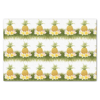 Tropical Pineapple Pattern Tissue Paper Seidenpapier