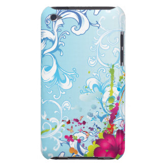 Tropische Blumenphantasie Case-Mate iPod Touch Case