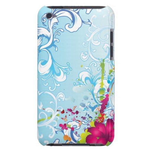 Tropische Blumenphantasie iPod Touch Hüllen