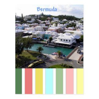 Tropische Farben von Bermuda Postkarte