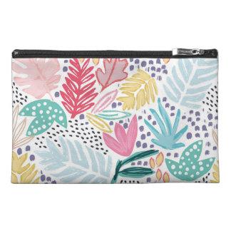 Tropische Form-Collagen-Muster-Kosmetik-Tasche Reisekulturtasche
