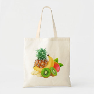 Tropische Früchte Tragetasche