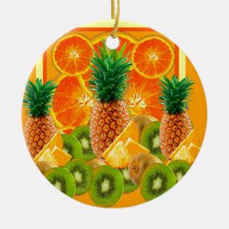 tropische HAWAIISCHE ANANAS-u. Keramik Ornament
