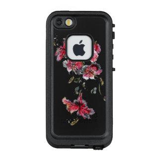 Tropische Hibiskus-Blumen LifeProof FRÄ' iPhone SE/5/5s Hülle