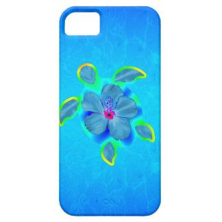Tropische Honu Schildkröte und Hibiskus Hülle Fürs iPhone 5