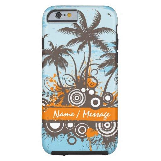 Tropische Hüllen der Insel-1 Tough iPhone 6 Hülle