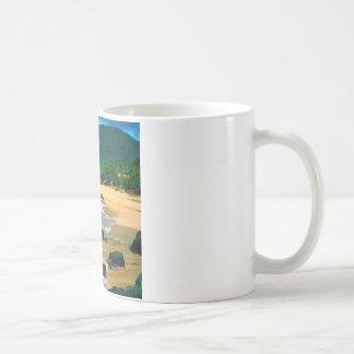 Tropische Insel die Ufer St Martin Kaffeetasse