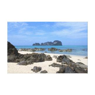 Tropische Insel Leinwanddruck