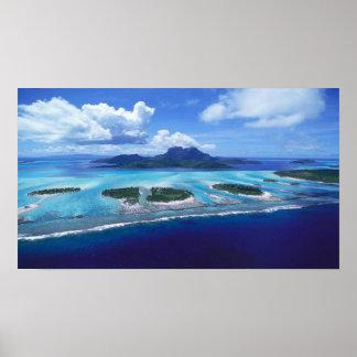 Tropische Insel Poster