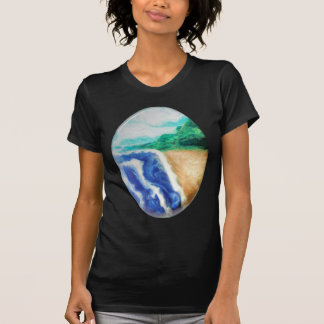 Tropische Insel T-Shirt