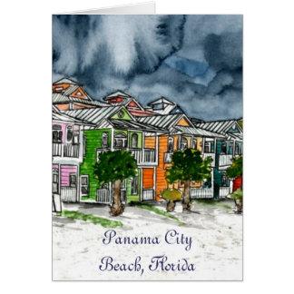 Tropische Kunstgeschenke Panama-Stadt Karte