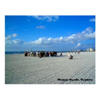 Tropische Marco Insel Florida - eine Postkarte
