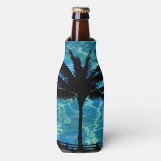 Tropische Palme-Sommer-Flasche cooler