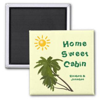 Tropische Palmen-personalisierte Quadratischer Magnet