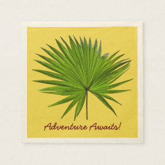 Tropische Paradies-Servietten Papierservietten