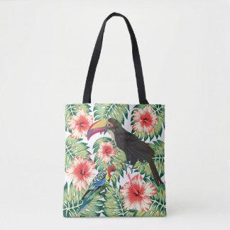 Tropische Paradiesvögel Entwurfs-Reihen 1 Tasche