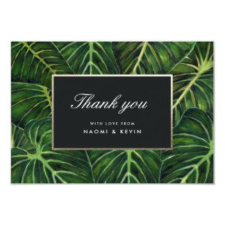 Tropische Romance/danken Ihnen Karte
