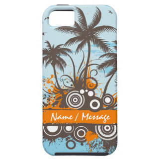 Tropische Speck-Hüllen der Insel-1 iPhone 5 Schutzhüllen