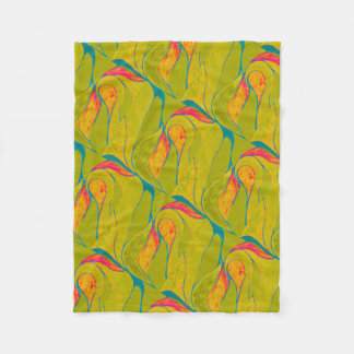 Tropische Spritzen-Decke Fleecedecke