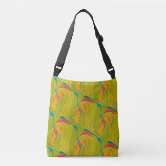 Tropische Spritzen Kreuz-Körper Tasche