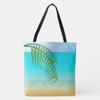 Tropische Strand-Ferien Tasche