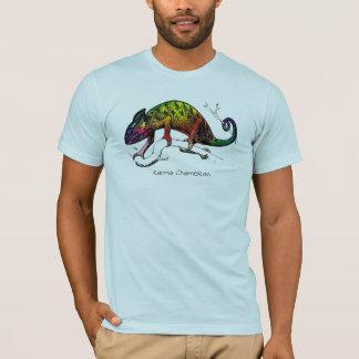 Tropische T-Stück Sammlung: Karma-Chamäleon T-Shirt