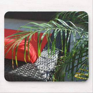 Tropische Wellness-Center-Sitzplätze, ruhiger Zen Mauspads