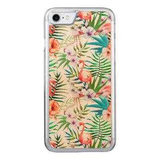 Tropischer Ahorn-Holz-Kasten Apples Iphone 7 Carved iPhone 8/7 Hülle