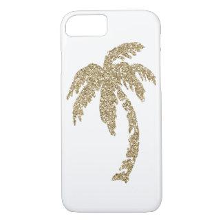 Tropischer bezaubernder Goldpalme iPhone 7 Fall iPhone 8/7 Hülle