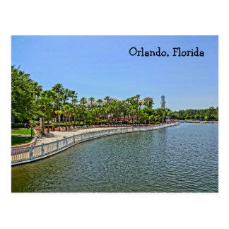 Tropischer großer Vista-Erholungsort Orlando, Postkarte