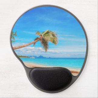 Tropischer karibischer Strand Gel Mousepad