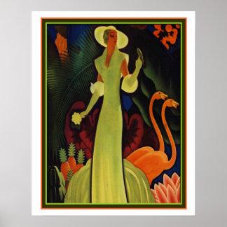 Tropischer Kunst-Deko-Druck durch William P. Poster