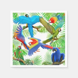 Tropischer Papierserviette